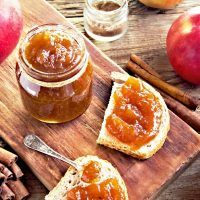 Home Canning, Marmalade, Diy Food, French Toast, Spices, Food And Drink, Pudding, Apple, Cooking