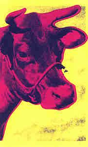Warhol Cows. Pop Art, Edition Prints and Original Paintings for sale.
