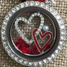 Double Heart Window Plate  www.marym.origamiowl.com