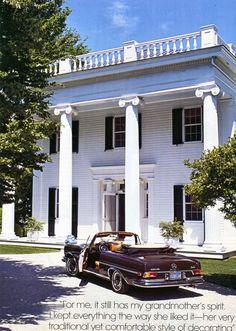 Aerin Lauder's East Hampton home