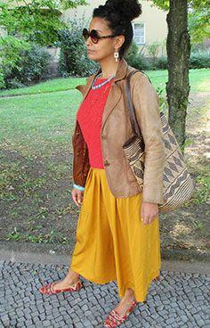 Flohmarkt Outfit: The Stylelist Helene: Zalando Mitarbeiter zeigen ihren Style