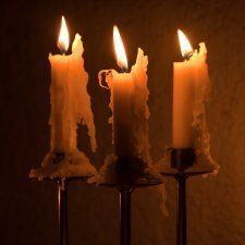 This is a guide about cleaning candle wax from candle sticks. Candles tend to drip and run down candle sticks as they burn. Removing this wax build up will keep your candle sticks looking nice.