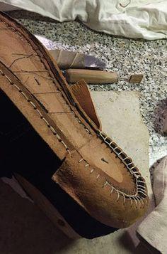 Men's Shoe 1750s - Sutor - Leatherworking