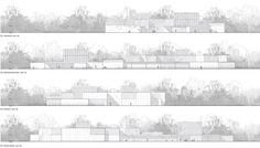 architecture elevations _ Chevalier Morales Architectes / Les Architectes FABG