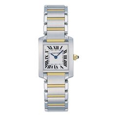 Cartier- my dream watch. Has to have the gold accents.