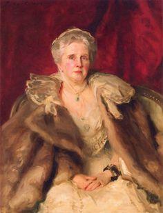 John Singer Sargent - Portrait of Mrs. Hugh Smith, 1904