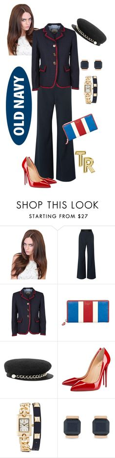 """""""We are the sailors"""" by mariana-cufari ❤ liked on Polyvore featuring Opening Ceremony, Gucci, Balenciaga, Eugenia Kim, Christian Louboutin, Adrienne Vittadini, Vince Camuto and Old Navy"""