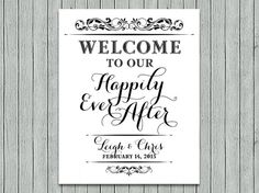 welcome-to-our-happily-ever-after-sign-8