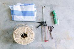 MI RINCÓN DE SUEÑOS: Hacer una alfombra con cuerda