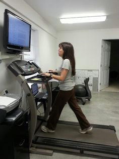 Build Your Own Treadmill Desk | Examples curated by WorkWhileWalking.com