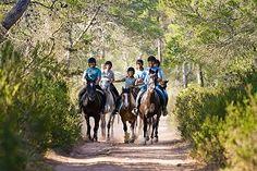 Natural pleasures! Equestrian tourism - Menorca (Balearic Islands, Spain) #menorcanatural