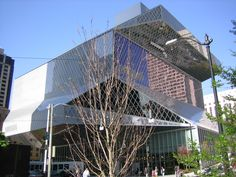 Seattle Central Library  #architecture #Koolhaas #OMA #Rem Pinned by www.modlar.com