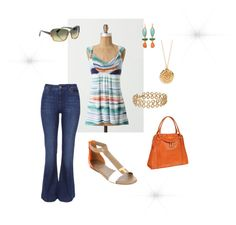 Summer Casual, created by tcrioux on Polyvore