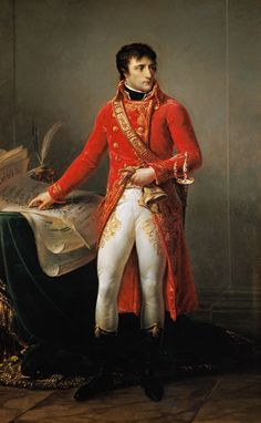 First Consul Bonaparte by Antoine Jean Gros, One of the finest and most famous portraits of Napoleon Bonaparte French History, European History, Art History, Military Art, Military History, French Prince, First French Empire, La Malmaison, Napoleon