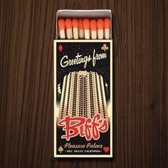 Eric Tan's Biffs matchbook