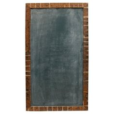 "Check out this item at One Kings Lane! 42"" Rectangle Chalkboard, Rustic"