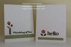 One-layer feminine cards