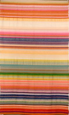 Gunta Stölzl; Wall Hanging with Striped Structure, 1923.