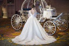 Alfred Angelo Bridal Cinderella wedding dress.
