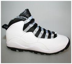 f4900be92f8430 Air Jordan Retro 10 X - Steel (GS) Jordan Nike