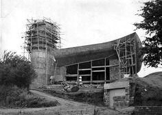 Ronchamp under construction