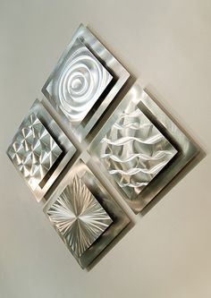 Square Metal Wall Art great layout inspiration for a geometric empty frame collage