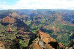 waimea canyon | One of the many views of Waimea Canyon. Waimea Canyon, Grand Canyon, Hawaii, Places, Nature, Travel, Viajes, Naturaleza, Destinations