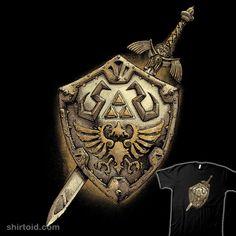 The Legend of Time #gaming #mastersword #rodrigogafa #shield #thelegendofzelda #videogame