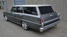 Chevrolet Nova II Wagon Custom - 1966 - Picture 13J6K17060610514