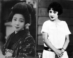 Okada Yoshiko (岡田嘉子) 1902-1992, Japanese Actress
