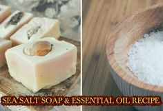 SEA SALT SOAP & ESSENTIAL OIL RECIPE