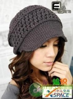 I love crochet hats... when I found this blog I just had to share them... the link to the blog is below... anyways I put tons of hat patter...