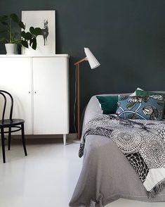 Deer, plants and patterns 🦌🌿 Photo by Roe Deer, Patterns, Bed, Illustration, Plants, Furniture, Instagram, Home Decor, Block Prints