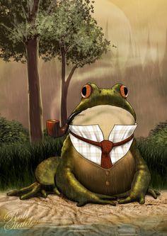 mr. toad, lookin dapper!