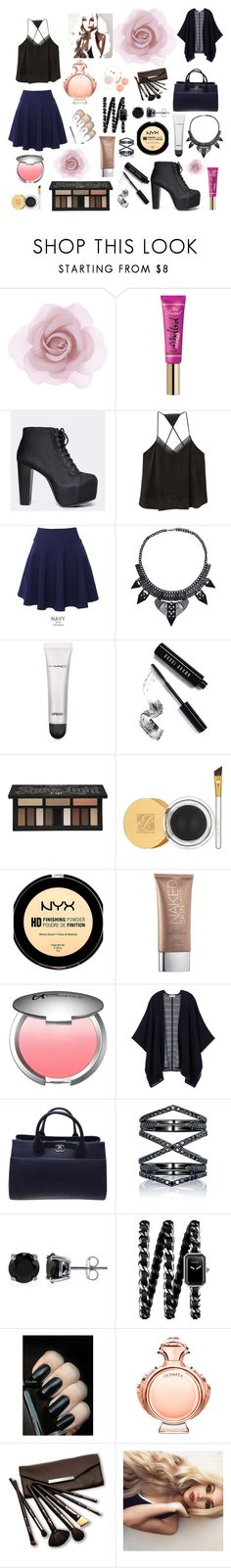"""""""Untitled #20"""" by sarahdoyle448 ❤ liked on Polyvore featuring Accessorize, Too Faced Cosmetics, Speed Limit 98, MANGO, QNIGIRLS, MAC Cosmetics, Bobbi Brown Cosmetics, Kat Von D, Estée Lauder and NYX"""