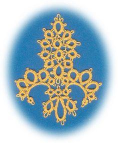 Fleur de Lis Tatting Pattern