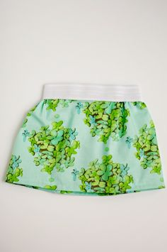 toddler skirt from fat quarter