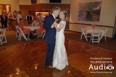 """For their romantic First Dance, Melissa and Ben chose """"All of Me"""" by John Legend. http://www.discjockey.org/real-chicago-wedding-sept-3-2016/"""