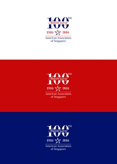 Designs | American Association of Singapore 100th Anniversary Logo | Logo design contest