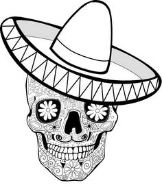 Day of the Dead Coloring and Craft Activities | Family Holiday