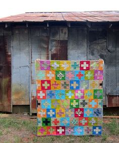 Plus, Plus:: a finished quilt