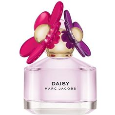 MARC JACOBS 'Daisy Sorbet' Eau de Toilette Spray ($76) ❤ liked on Polyvore featuring beauty products, fragrance, perfume, beauty, makeup, fillers, daisy fragrance, spray perfume, violet perfume and edt perfume