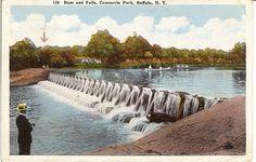 Cazenovia Park-South, Park System in Buffalo, New York.