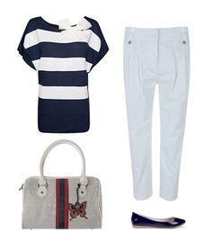 #Look 'navy' para el fin de semana con prendas de #Zara, @MANGO, #Blanco y #SalvadorBachiller