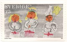 """Sweden 75ö """"Christmas"""" 1972. Stefan Hägg del."""