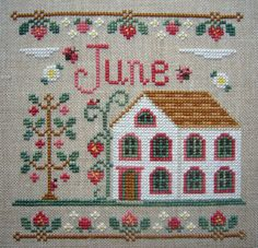 Thrilling Designing Your Own Cross Stitch Embroidery Patterns Ideas. Exhilarating Designing Your Own Cross Stitch Embroidery Patterns Ideas. Cross Stitch House, Cross Stitch Samplers, Cross Stitch Kits, Cross Stitch Charts, Cross Stitch Designs, Cross Stitching, Cross Stitch Embroidery, Embroidery Patterns, Hand Embroidery