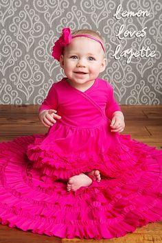 New Arrivals. Lemon Loves Layette Jada Dress in Cabaret Fuchsia, Berry Styles Kids Shoes