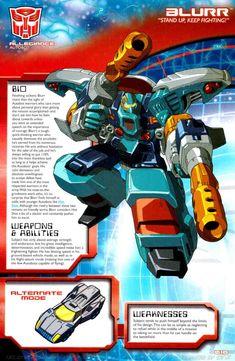 Transformers Universe - Gallery: Armada Blurr
