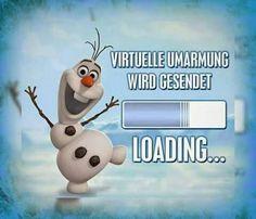 virtuelle Umarmung