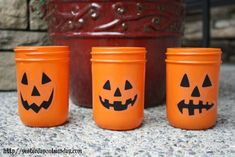 Halloween in Mason Jars